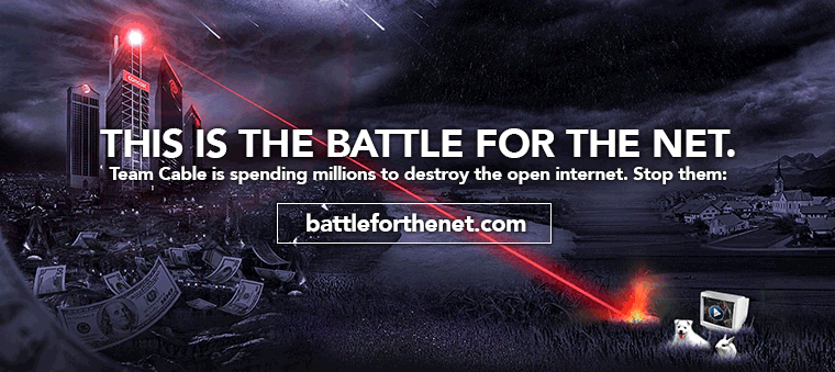 Battle For The Internet