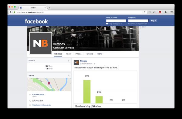 Nimbox Facebook Page