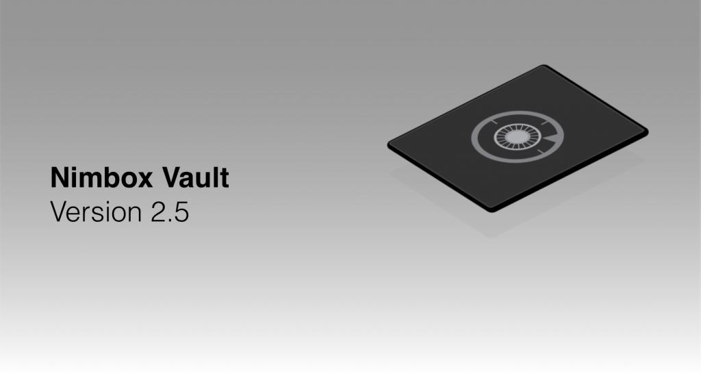 Nimbox Vault Version 2.5