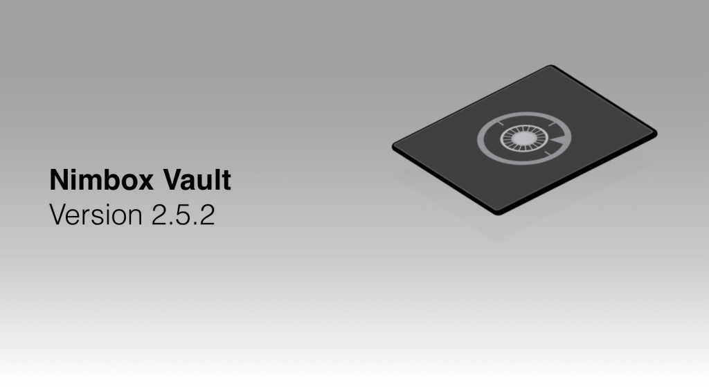 Nimboc Vault Version 2.5.2